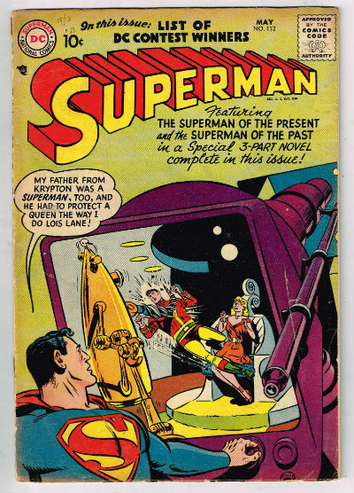 Image for SUPERMAN #113    1957,May | VOLUME 1 | DC