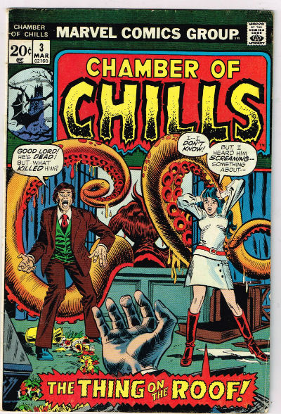 Image for Chamber of chills,#3 and #8:Its fun to read the old horror reprints from the 50's and early '60's