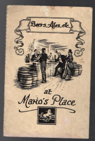 Image for Mario's Place bar menu