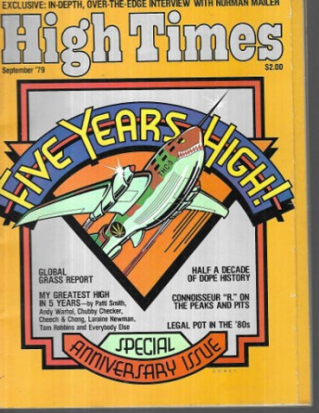 Image for High Times,Sept.,1979 5th anniversary edition.