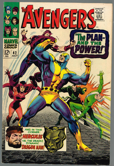 Image for The Avengers #42 ,July,1967