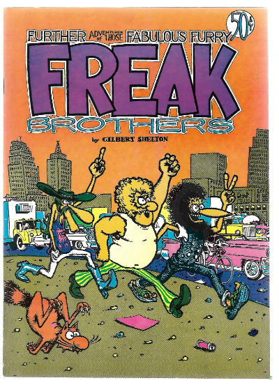 Image for Fabulous Furry Freak Brothers (Rip Off Press) #2, 2nd Printing