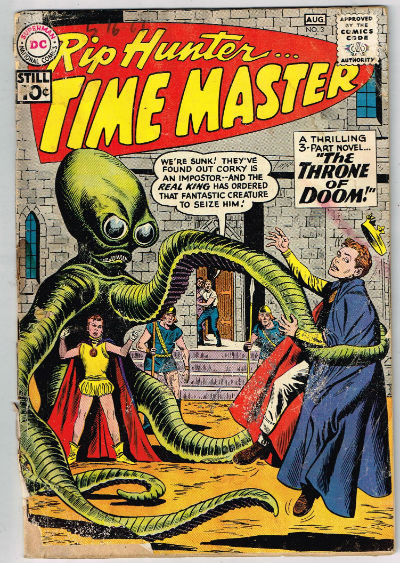 Image for RIP HUNTER, TIME MASTER #3    1961/august | VOLUME 1 | DC