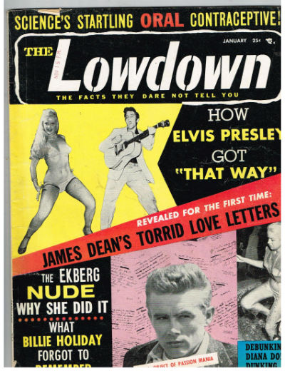 Image for THE LOWDOWN Magazine January 1957