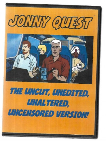 Image for Jonny Quest (7 Box set CD);the uncut,unedited,unaltered,uncensored version