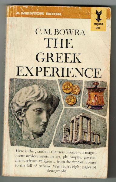 Image for the Greek experience