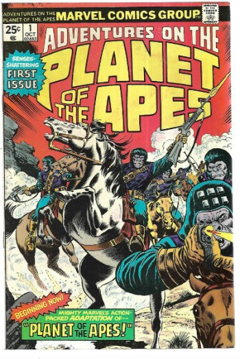 Image for Adventures on the Planet of the Apes