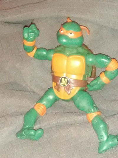 Image for Teenage Mutant Ninja Turtles Classic Collection Action Figure - Michelangelo ,loose.