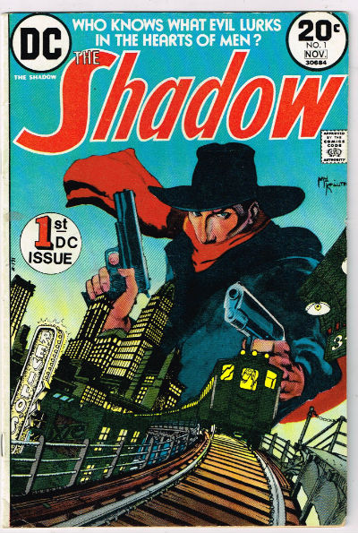 Image for The Shadow #1,Nov.,1973
