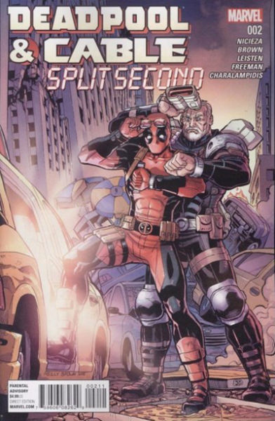 Image for DEADPOOL & CABLE: SPLIT SECOND #1-#3    2016 | MINI-SERIES | MARVEL