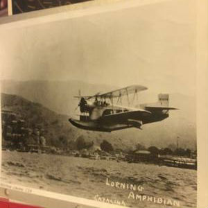 Image for WESTERN AIRLINES -KEYSTONE LOENING C2H AMPHIBIAN 1929 - BLACK & WHITE 8 X 10