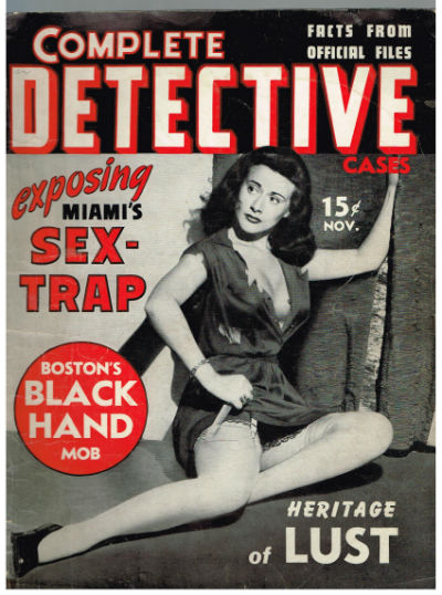 Image for Complete Detective Cases,    November 1941