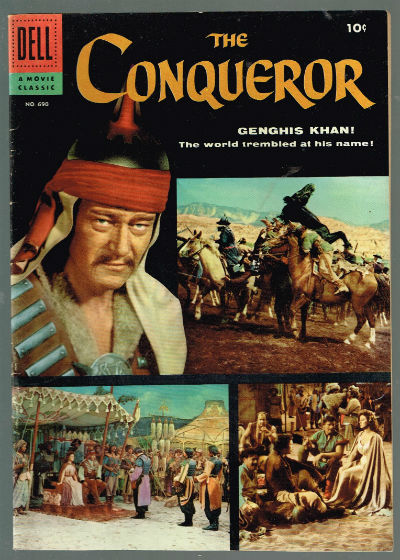 Image for The Conqueror Four Color Comic Book #690, Dell 1956 VF+