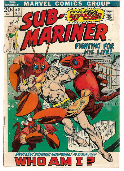 Image for Sub-Mariner #50