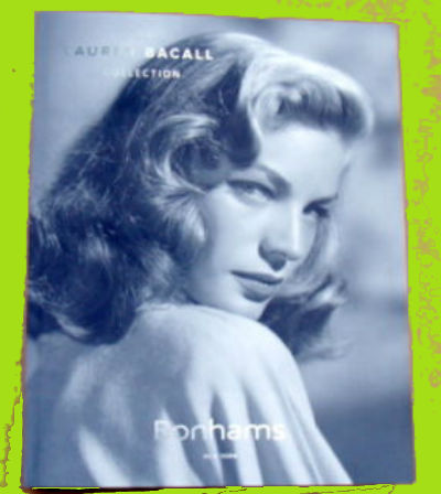 Image for 2015 BONHAMS AUCTION CATALOG~THE LAUREN BACALL COLLECTION~ART-FURNITURE-JEWELRY