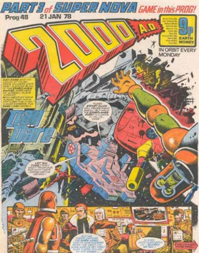 "Image for Judge Dredd in ""2000  (4 issues)                                  2000 A.D. prog46-49 featuring the mighty Judge Dredd,"