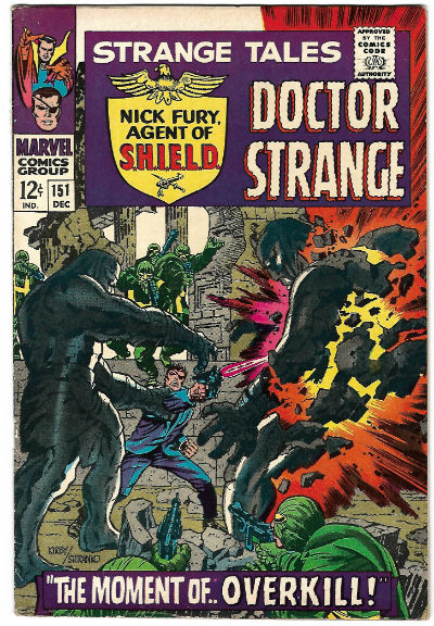 Image for STRANGE TALES #151   1951-1976 |  VOLUME 1 |  MARVEL