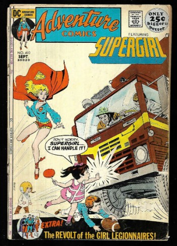 Image for Adventure Comics featuring Supergirl #410