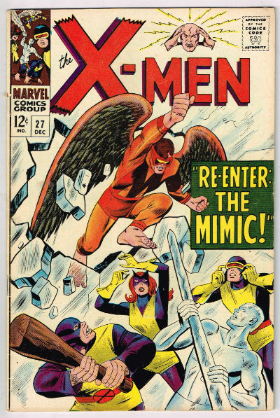 Image for UNCANNY X-MEN #27    1966 | VOLUME 1 | MARVEL