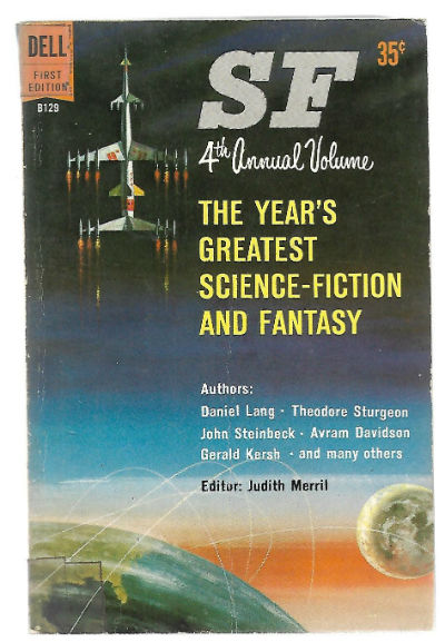 Image for SF THE YEAR'S GREATEST SCIENCE-FICTION AND FANTASY: FOURTH ANNUAL VOLUME.