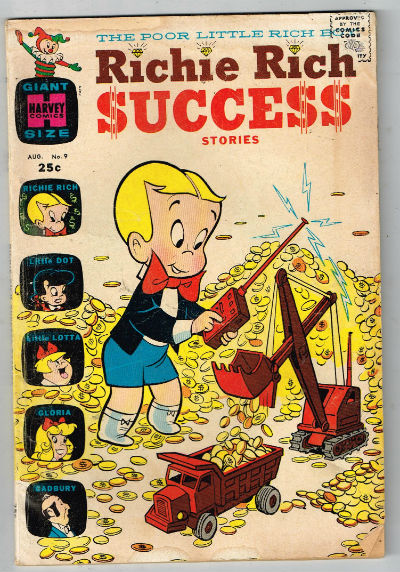 Image for RICHIE RICH SUCCESS STORIES #9   1966 |  VOLUME 1 |  HARVEY
