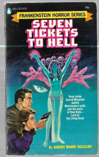 Image for Seven Tickets to Hell: Frankenstein Horror Series.