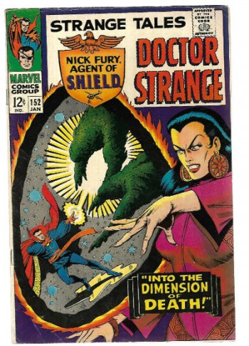 Image for Strange tales #152 featuring Doctor Strange and Nick Fury and his agents of SHIELD