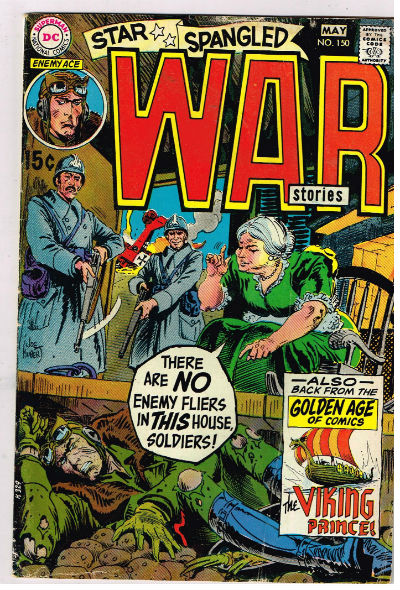 Image for STAR SPANGLED WAR STORIES #150   1952-1977 |  VOLUME 1 |  DC