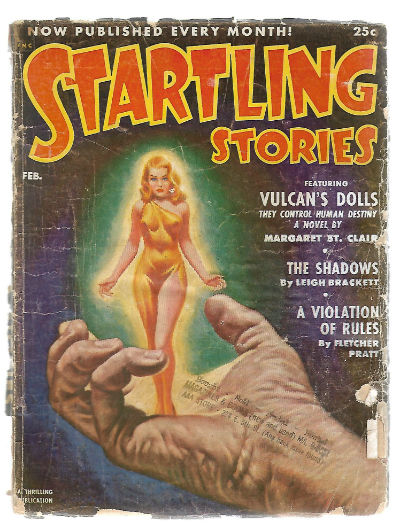 Image for  STARTLING STORIES; FEB 1952 - vintage science fiction pulp magazine