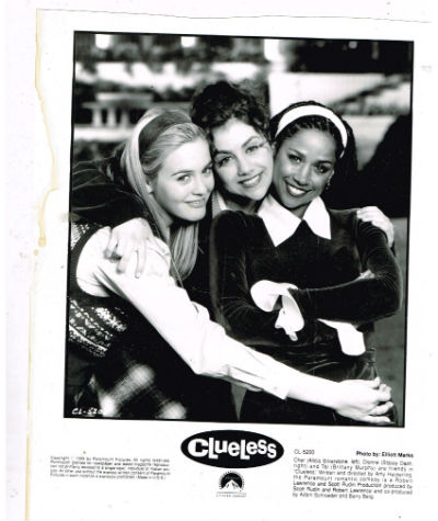 "Image for Clueless Photo 8""x10""B&W"
