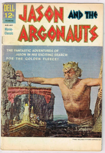 Image for JASON AND THE ARGONAUTS (MOVIE CLASSIC) #1   1963 |  ONE-SHOT |  DELL