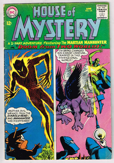 Image for HOUSE OF MYSTERY #151   1965 |  VOLUME 1 |  DC