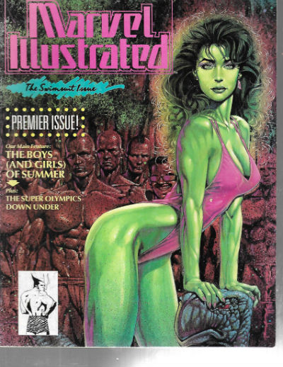 Image for Marvel Illustrated: The Swimsuit Issue Vol 1 #1