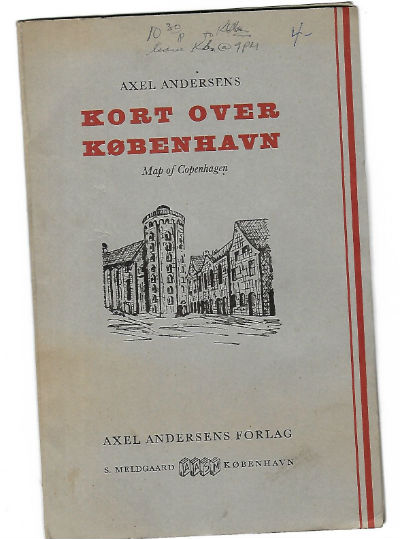 "Image for Axel Anderson's,""Kort over Kobenhaven"""