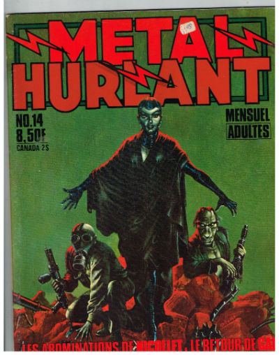 Image for Metal hurlant No.14 Mensuel Adultes