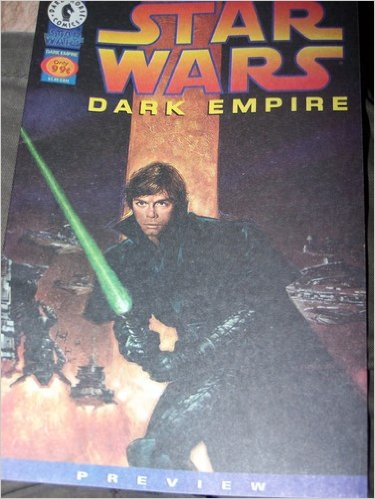 Image for Star Wars Dark Empire Preview #NON Comic – June 1, 1996  by Tom Veitch & Cam Kennedy (Author)