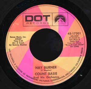 "Image for Count Basie 45 rpm 7"":Hay Burner/That Warm Feeling"