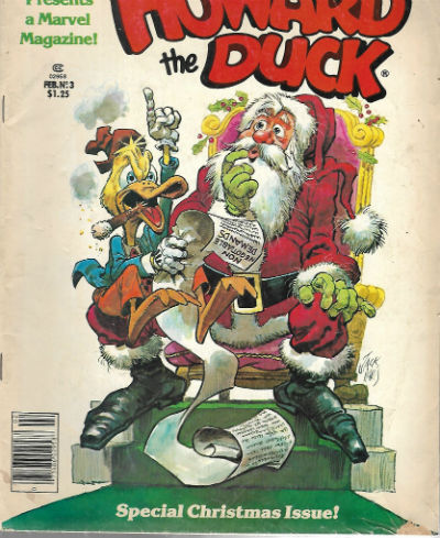 Image for Howard the duck magazine,No.#3 and no.#8