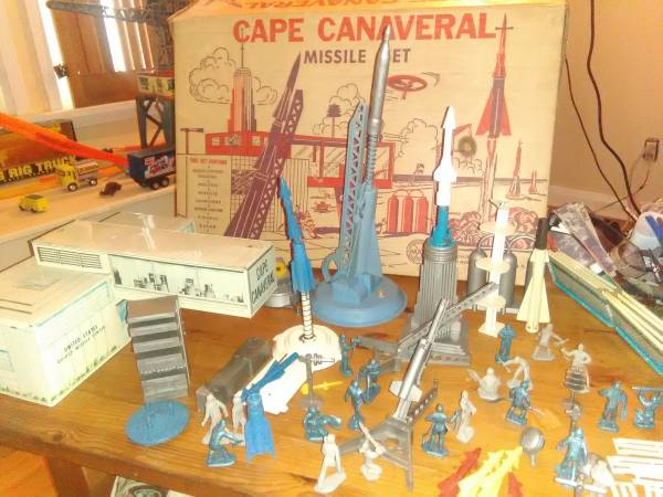 Image for Playset-Project Mercury Cape Canaveral-Marx-Boxed-1950s