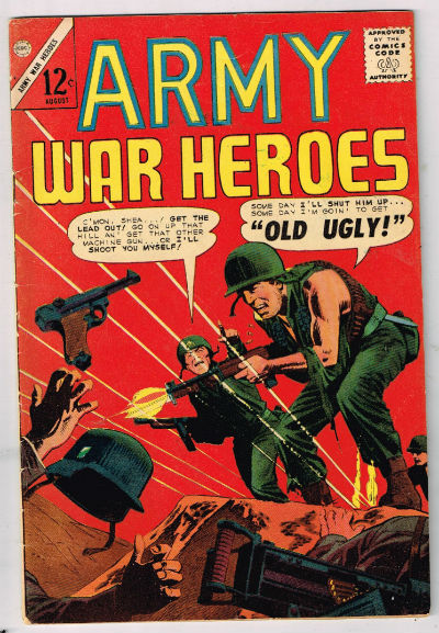 Image for ARMY WAR HEROES #9   1963-1970 |  VOLUME 1 |  CHARLTON