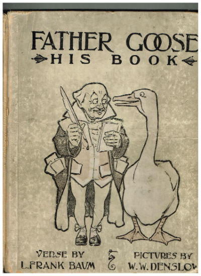 Image for Father Goose;His book