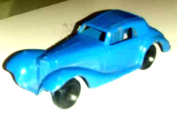 Image for Tootsietoy 1938 Mercedes - Metal - Blue - Tootsie Toy