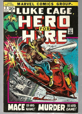 Image for Hero for Hire #3:Will become