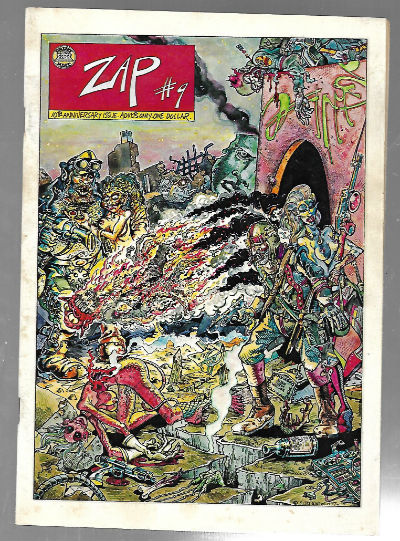 Image for Zap Comix (1968 Apex Novelties) Issue 9, Printing 1