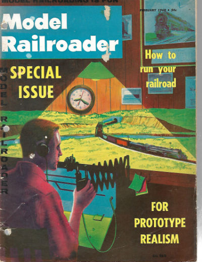Image for 1960 Model Railroader Magazine: How to Run Your Railroad/Car Distribution