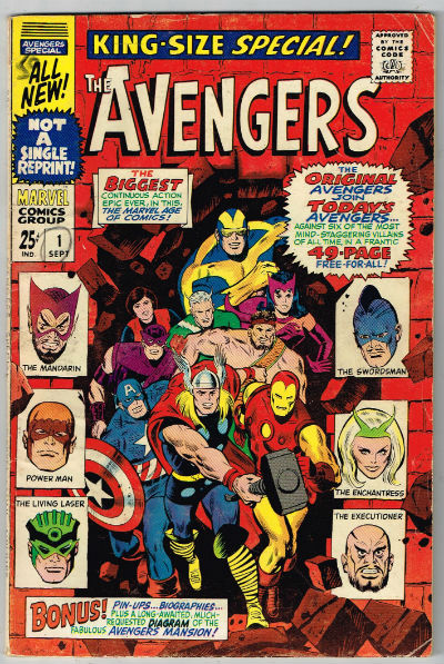 Image for AVENGERS SPECIAL #1    1963-1996 | VOLUME 1 | MARVEL
