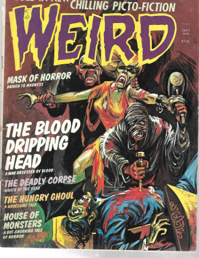 Image for Weird:Told in new chilling Picto-vision;Sept.1976