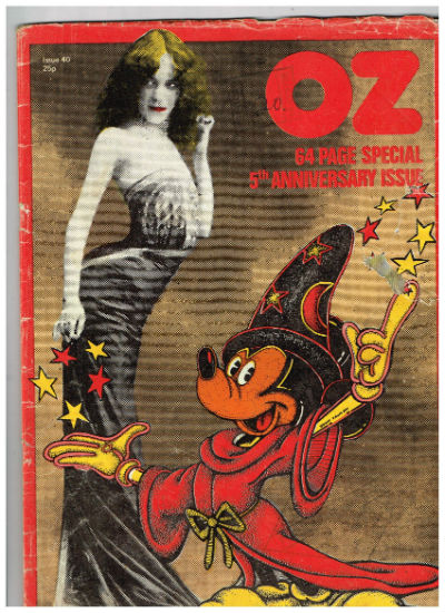 Image for Underground Press: OZ, Issue 40, 5th Anniversary : Feb-72: OZ (British Edition) Underground Press: ...