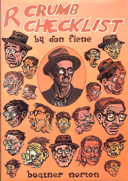 Image for R. Crumb checklist of work and criticism: With a biographical supplement and a full set of indexes