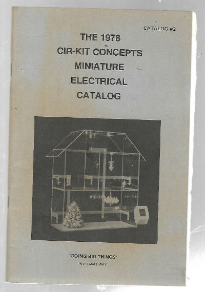 Image for the 1978 cir-kit concepts miniature electrical catalog